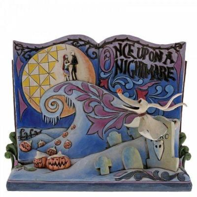 Nbx once upon a nightmare statuette enesco 16x19x10cm