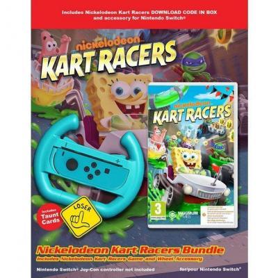 Nickelodeon kart racers cib volant