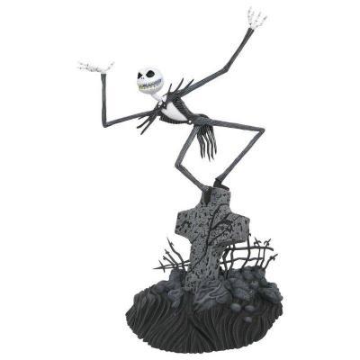Nightmare before christmas jack skellington statuette gallery 28cm