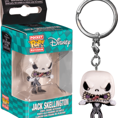 Nightmare before christmas pocket pop keychains jack scary face