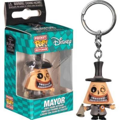 Nightmare before christmas pocket pop keychains the mayor