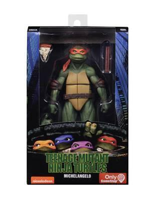 Ninja turtles action figure michelangelo 18cm reprod