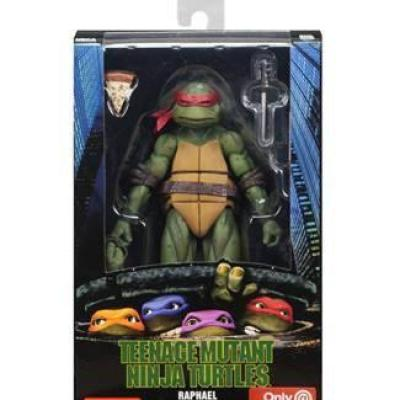 Ninja turtles action figure raphael 18cm reprod
