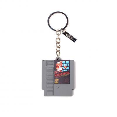 Nintendo cartridge porte cles en caoutchouc