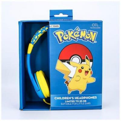 Nintendo casque audio otl 3 7 junior 85db pikachu