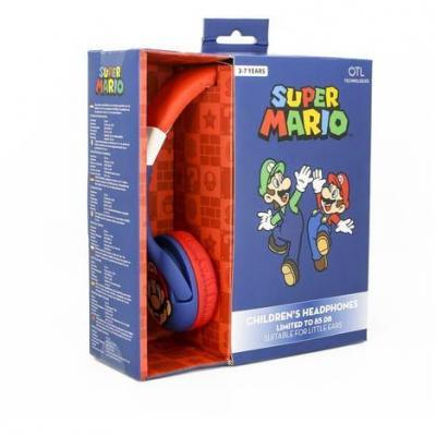 Nintendo casque audio otl 3 7 junior 85db super mario
