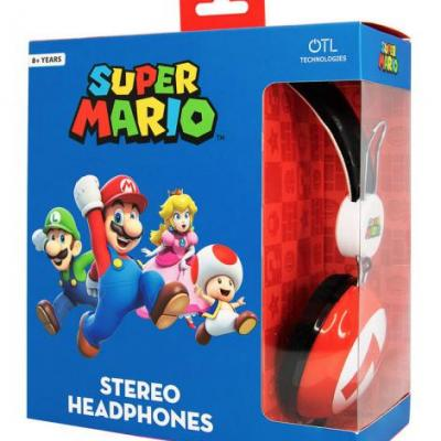 Nintendo casque audio otl 8 teen super mario icon