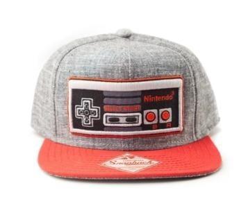 Nintendo casquette snapback controller