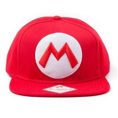 Nintendo casquette snapback mario logo