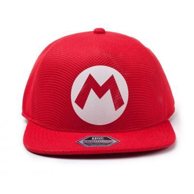 Nintendo casquette snapback super mario badge
