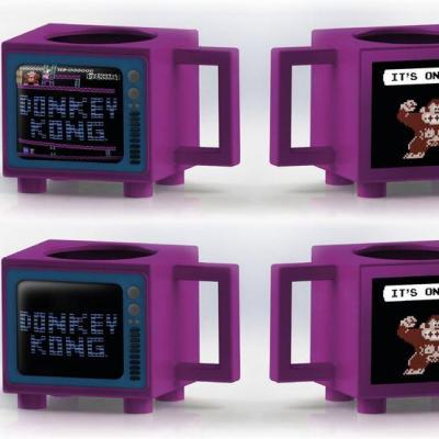 Nintendo donkey kong mug thermoreactif 500ml