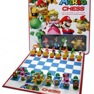 Nintendo jeu d echec mario