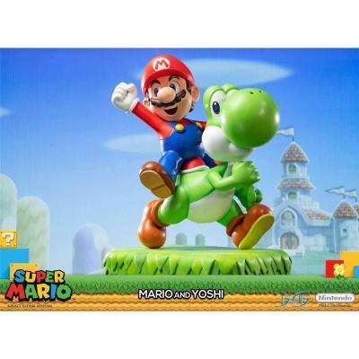 Nintendo mario yoshi statue 48cm