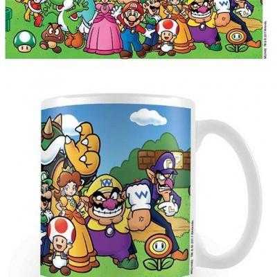 Nintendo mug 300 ml super mario characters