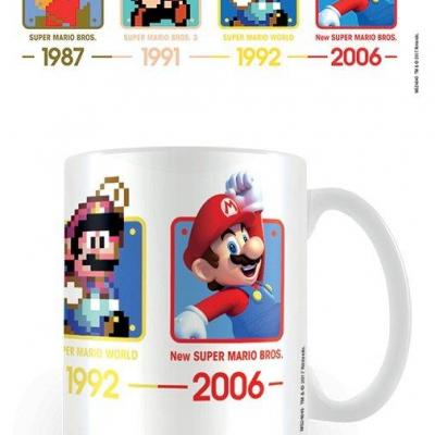 Nintendo mug 300 ml super mario dates