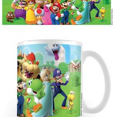 Nintendo mug 300 ml super mario mushroom kingdom