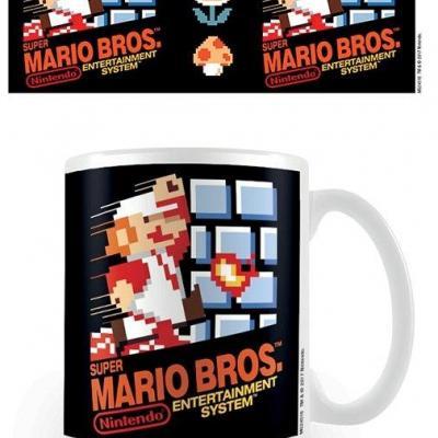 Nintendo mug 300 ml super mario nes cover