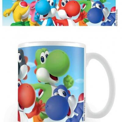 Nintendo mug 300 ml super mario yoshi