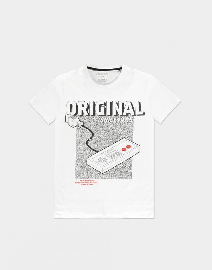 Nintendo nes the original t shirt homme
