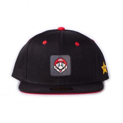 Nintendo super mario badge casquette