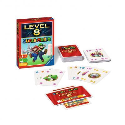 Nintendo super mario level 8 jeu de famille