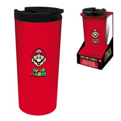Nintendo super mario mug thermo en acier inoxydable 425ml