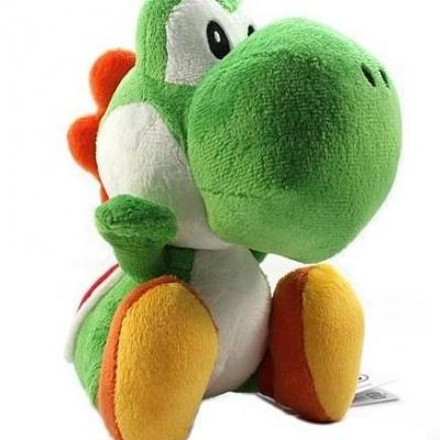 Nintendo super mario peluche yoshi green 16 cm