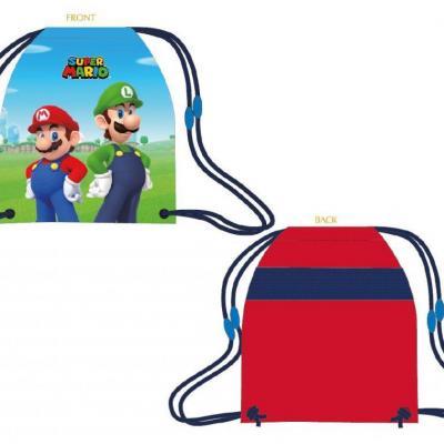 Nintendo super mario sac de gym piscine sport 32x41cm
