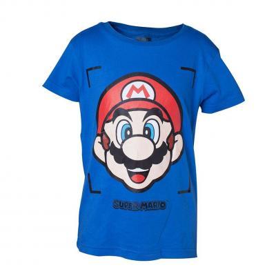 Nintendo t shirt boy s super mario face