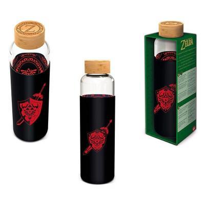 Nintendo zelda bouteille en verre format 585ml