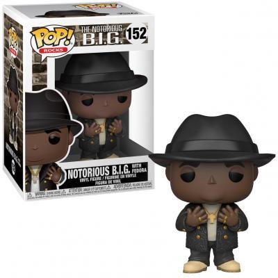 Notorious b i g bobble head pop n 152 biggie