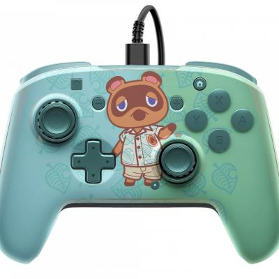 Official faceoff deluxe audio wired animal crossing controller