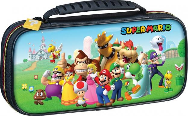 Official mario friends travel case for nintendo switch