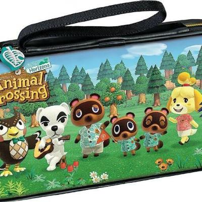 Official nintendo travel case animal crossing for switch switch lite