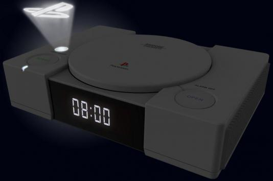 Official playstation radio clock with projection 1
