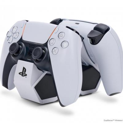 Official playstation twin charging station dualsense controller