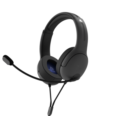 Official playstation wired headset lvl40 ps4 ps5 black