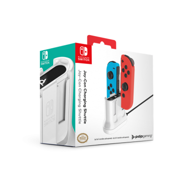 Official switch 4x joy con charging shuttle