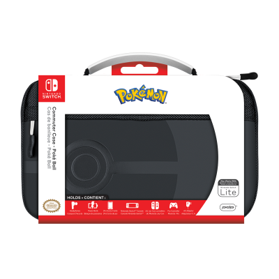 Official switch commuter case pokeball for switch switch lite