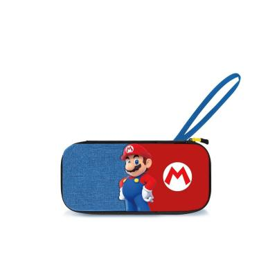 Official switch deluxe travel case mario edition for sw sw lite