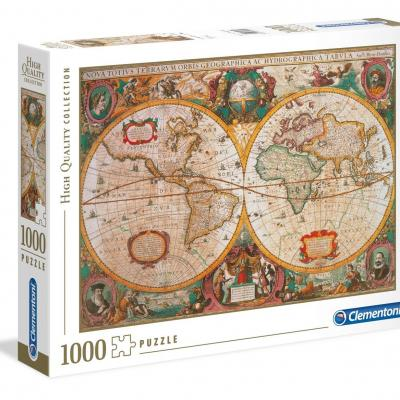 Old map puzzle 1000p