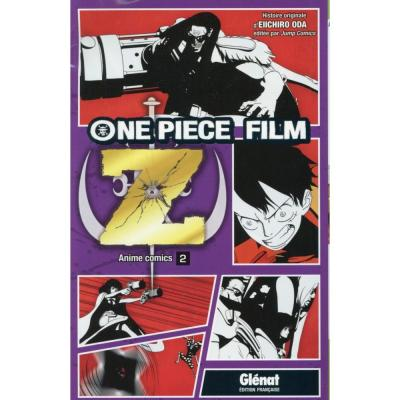 One piece anime comics z tome 2