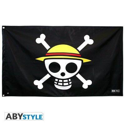 One piece drapeau 70x120cm skull luffy