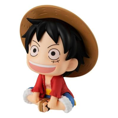 One piece look up monkey d luffy statuette 11cm