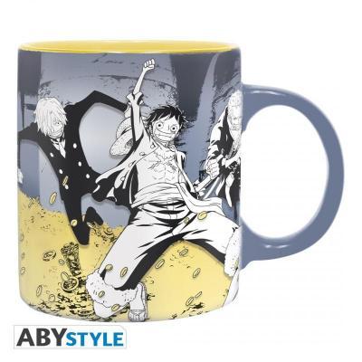 One piece luffy tresor mug 320ml