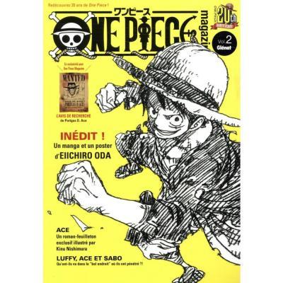 One piece magazine tome 2