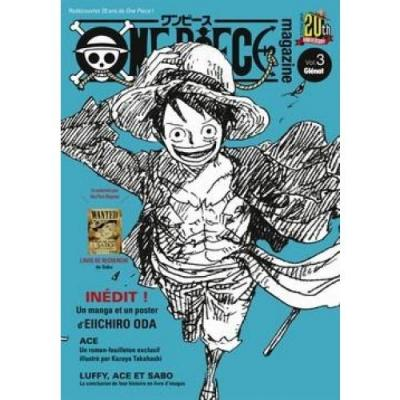 One piece magazine tome 3