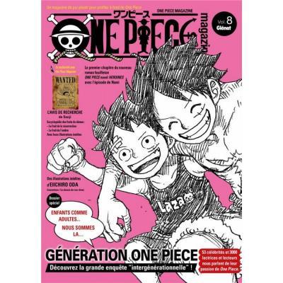 One piece magazine tome 8