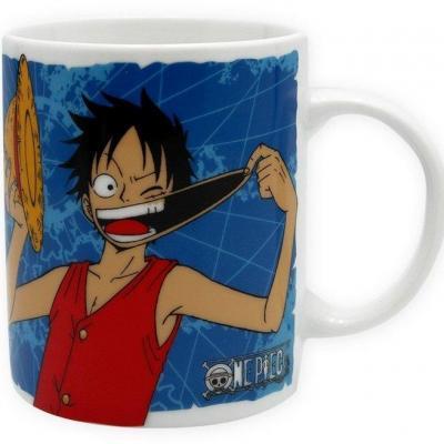 One piece mug 320 ml luffy emblem