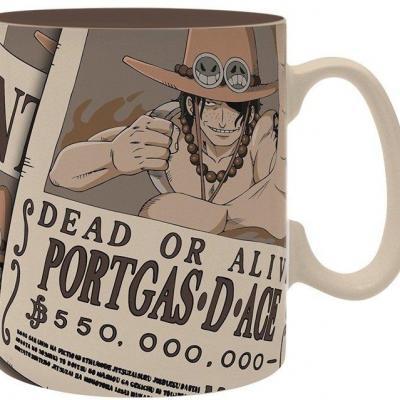 One piece mug 460 ml wanted ace